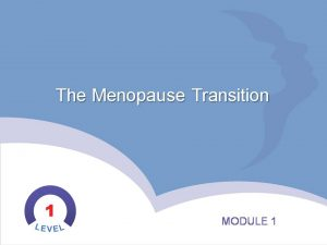 Impart - the menopause transition